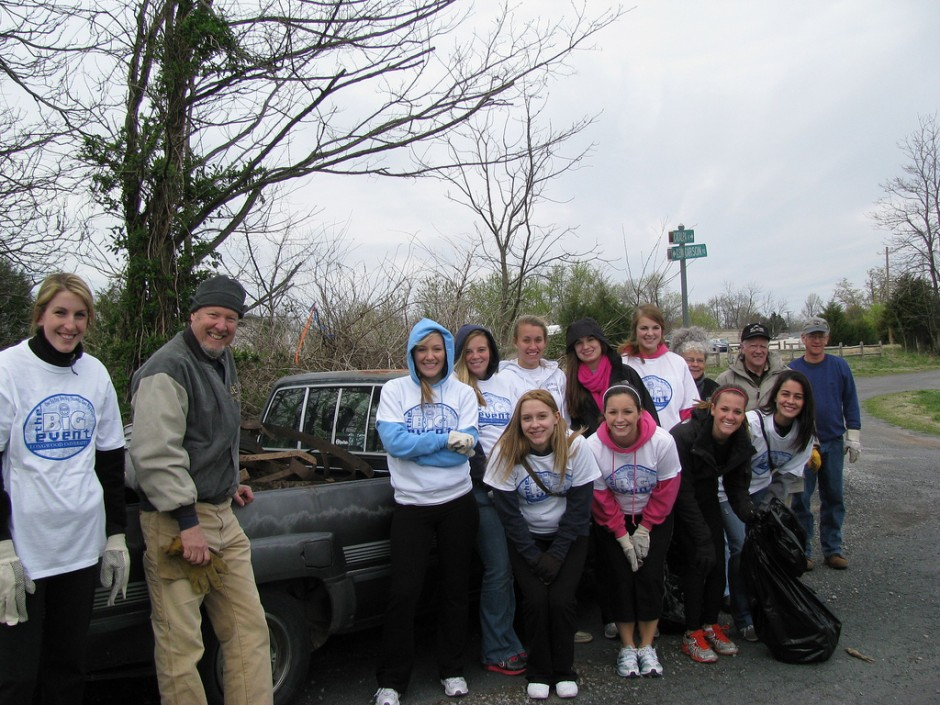 green volunteer projects