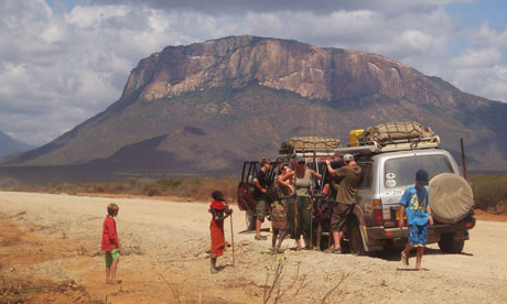 overland travel - cape town to Cairo