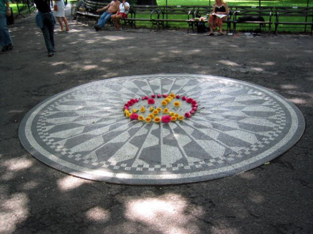 Central Park Strawberry Fields