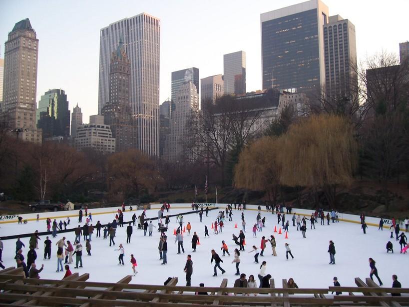 Home Alone Ice Skating