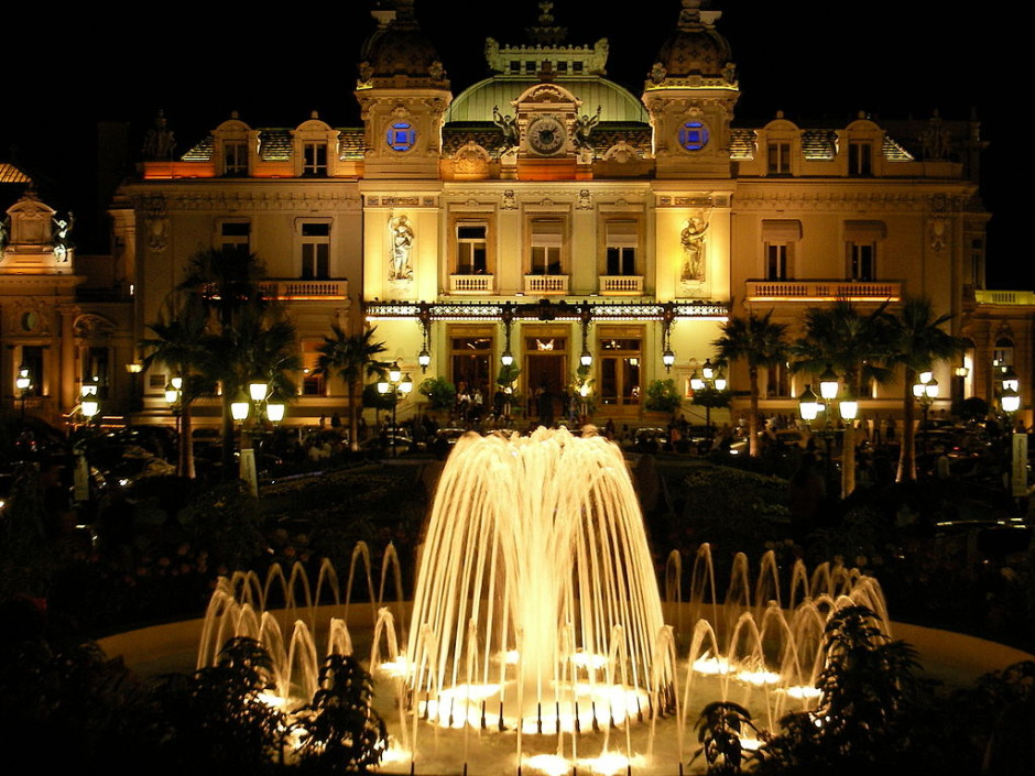 The Monte Carlo is one of the most Famous Casinos in Europe