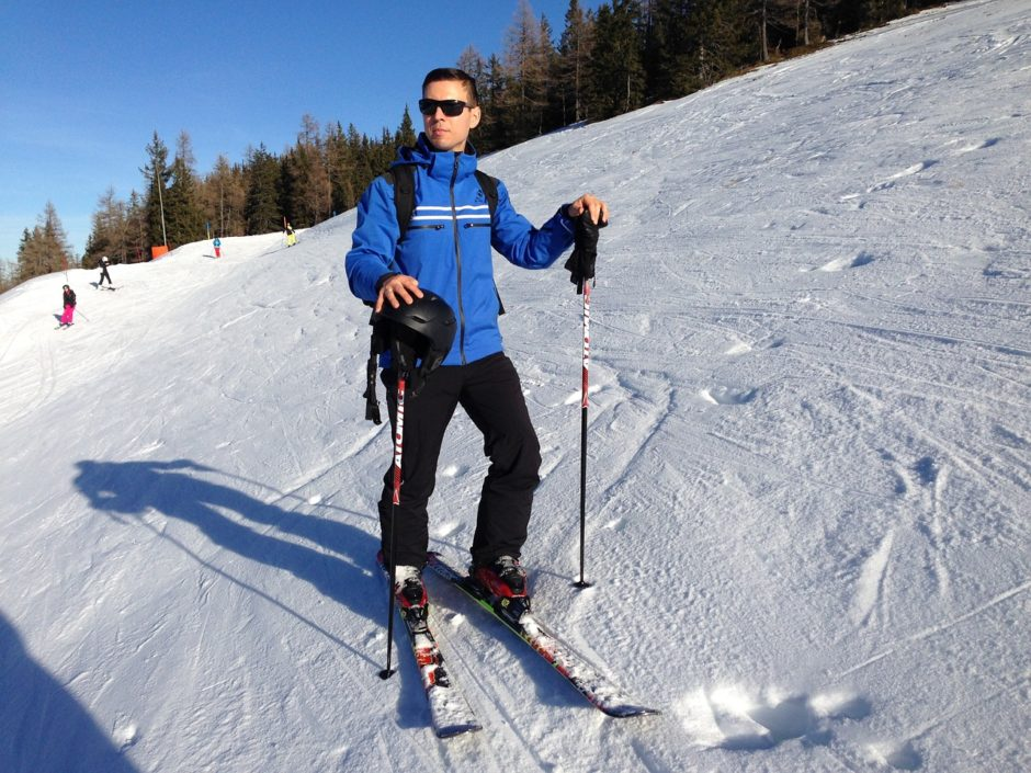 Bored Of Beach Holidays? Go skiing instead.